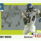 2003  Topps   All American  # 42   Randy Moss
