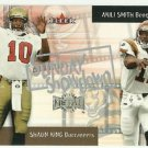 2000  Fleer Metal  Sunday Showdown Insert   # 4 Shawn King / Akili Smith