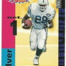 1995  UD Collector Choice  Crash the Game Silver # C19   Marshall Faulk   HOF'er