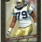 1996   Fleer Ultra Gold Med. Ultra Rookie Insert  # 26 Jonathan Ogden RC! HOF'er