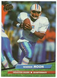 1992   Fleer  Ultra  # 151  Warren Moon    HOF'er!
