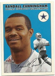 2000   Fleer Tradition   # 303  Randall Cunningham