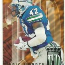 1995   Fleer Ultra   Touchdown Kings Insert     # 9    Chris Warren
