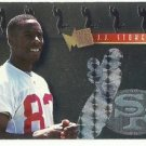 1995   Fleer Metal    Platinum Portraits Insert   # 11   J.J. Stokes