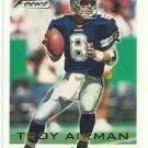 2000   Fleer  Focus   # 189   Troy Aikman   HOF'er