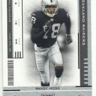 2005   Playoff  Contenders   # 72   Randy Moss