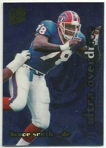 1995   Fleer Ultra    Overdrive Insert    # 14  Bruce Smith