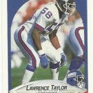 1990    Fleer  #77   Lawrence Taylor   HOF'er