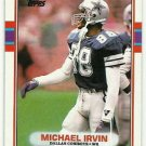 1989   Topps   Super Rookie   # 383  Michael Irvin