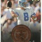 1997  Pinnacle Mint  Minted Highlights  # 25  Troy Aikman   HOF'er