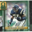 1999   Pacific Omega  #  199    Junior Seau   HOF'er