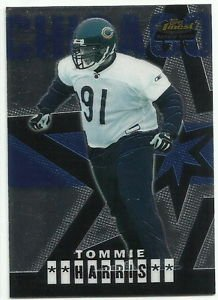 2004   Topps Finest      #  83  Tommie Harris RC!