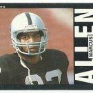 1985   Topps   # 282   Marcus Allen