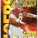 1997  Skybox Impact  Boss Insert  # 20  Steve Young  HOF'er