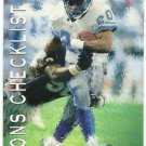 1993   Upper Deck   # 80   Barry Sanders / Lions Check List