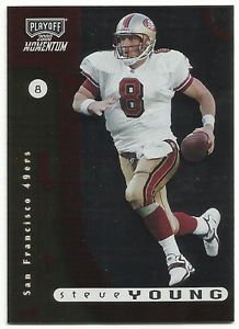 2000  Playoff Momentum  # 75  Steve Young