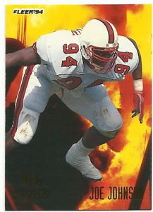 1994   Fleer    Prospects  Insert     # 14    Joe Johnson  RC!