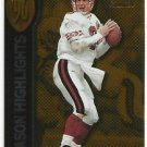 1997   Pinnacle Zenith   Season Highlights   # 133   Steve Young