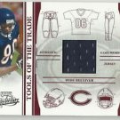 2006 Playoff Absolute Memorabilia Jersy Patch Chicago Bears  Bernard Barrian Ser