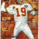 1995   Fleer     # 183   Joe Montana  HOF'er
