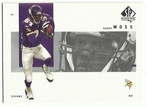 2001   SP Authentic    # 50   Randy Moss