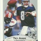 1990   Fleer  # 384  Troy Aikman