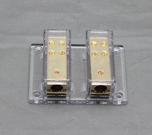 APS 2X4 GAUGE TO 8 X 8 GAUGE POWER/GROUND DISTRIBUTION BLOCK SKPD-12