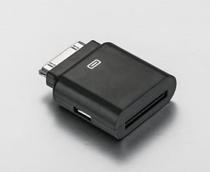 APS US SHIPPING Audio Adapter For iPod iPhone 4 3GS Converter Fix 12V to 5V