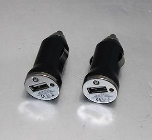 APS 500MA Mini Car USB Charger Adapter to Cigarette Lighter for USB Black