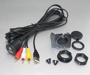 APS Car Dash Mount Installation USB/Aux 3RCA  Extension Cable for Renault