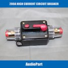 APS 200A Car Audio Inline Circuit Breaker Fuse for 12V Protection CB04-200A