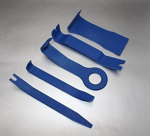 APS 5pcs auto Door Trim Panel Molding Clip Retainer Removal Pry Tool For Toyota
