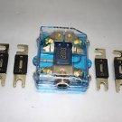 APS FREE 4PCS 500A ANL DUAL DIGITAL PLATINUM ANL DIST BLOCK 0-4 GA FUSE HOLDER