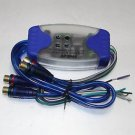 APS Four CH Ground Loop Isolator for Car Audio Curciut Remove Noise Filter 4 RCA