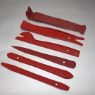 APS 6 pc TRIM REMOVAL TOOL KIT DOOR PANEL INTERIOR WEDGE PRY CLIP FOR Honda