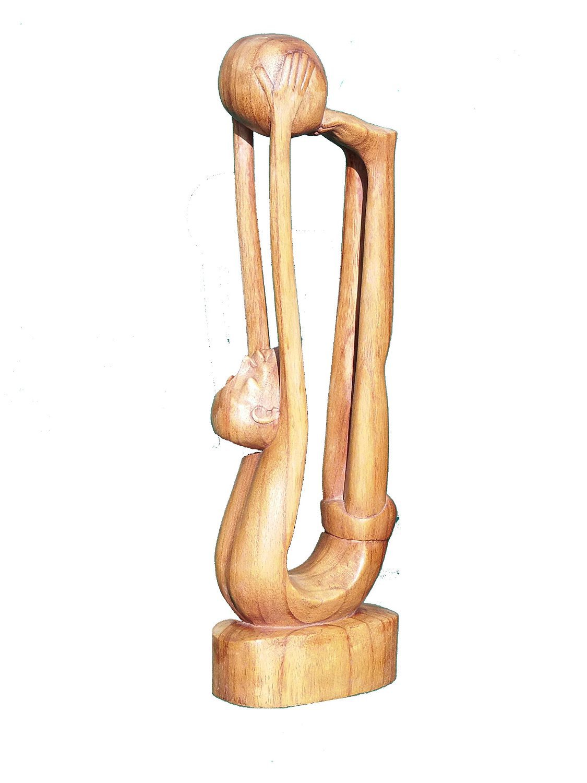 Contemporay wooden figure