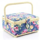Rose sewing basket