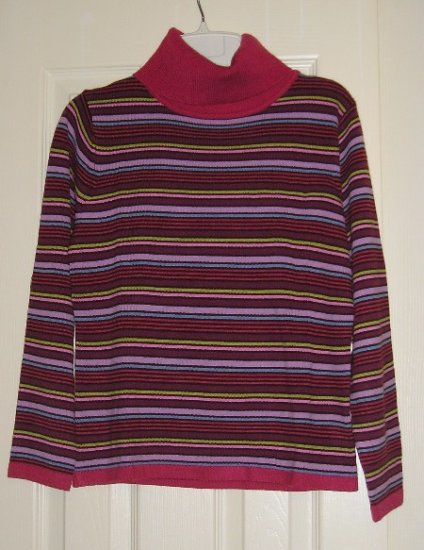 Christie and Jill LS TurtleNeck Top Shirt Womens Teens Girls Size Petite Small NEW