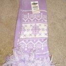 NEW Old Navy Fleece Lined Winter Scarf Purple $12.50~