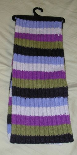 NWT Winter Scarf Womens Teens Girls Purple Black + Great Colors GIFT SALE!