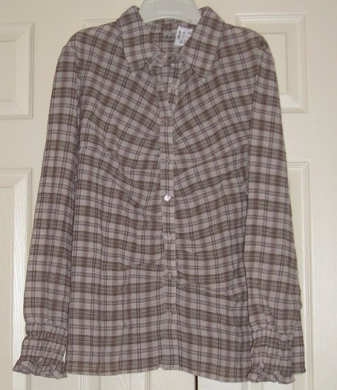 Duo Womens Matenity Shirt Top - Large - NWT - DEAL!