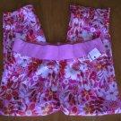 Maternity Announcements Womens Maternity Capris Pink Floral Capri Pants SALE