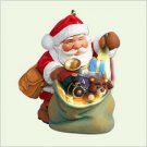 Hallmark Santas Magic Sack VIP Colorway Ornament NEW