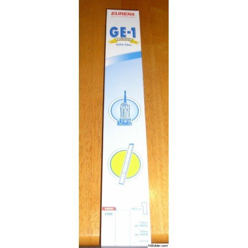 Eureka GE-1 Premium HEPA Filter 5500 Series 62134 NEW!