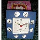 New Blue Soccer Clock Soccer FANs will LOVE!