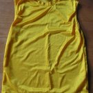 Boys Girls Mesh Yellow Sports Top - Large Excel SALE!