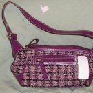NEW Villager Purse Bag Plaid Plums Pinks - Great Colors