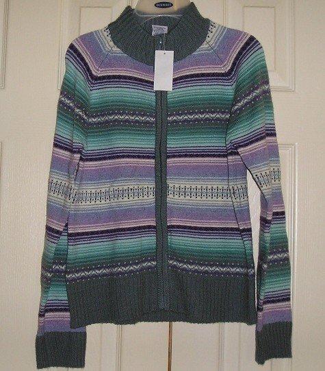NEW Old Navy Girls Teens Zip Front Sweater XXL - CUTE!