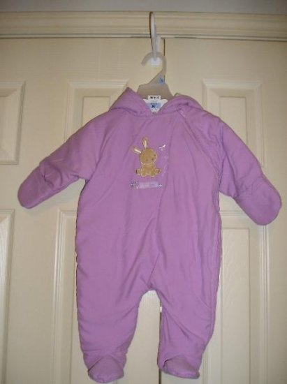 Child of Mine Baby Bunting One Piece Snow Suit 3 6 Months NEW