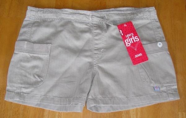 Girls Shorts Levis Levi's Brand - Teens - NEW - Size 16